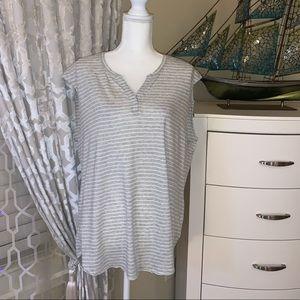 Calving Klein cotton simple light T-shirt